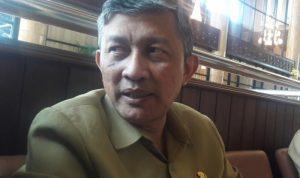 adinkes Jatim, Kohar Hari Santoso saat ditemui di DPRD Jatim. (panca)